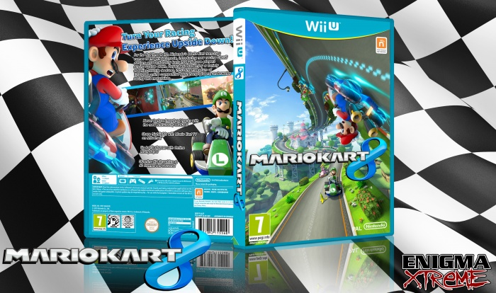 Mario Kart 8 Wii U Box Art Cover By Nick Gipson