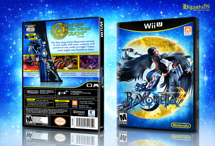 Bayonetta 2 Box Art Bayonetta 2 Box Art Cover
