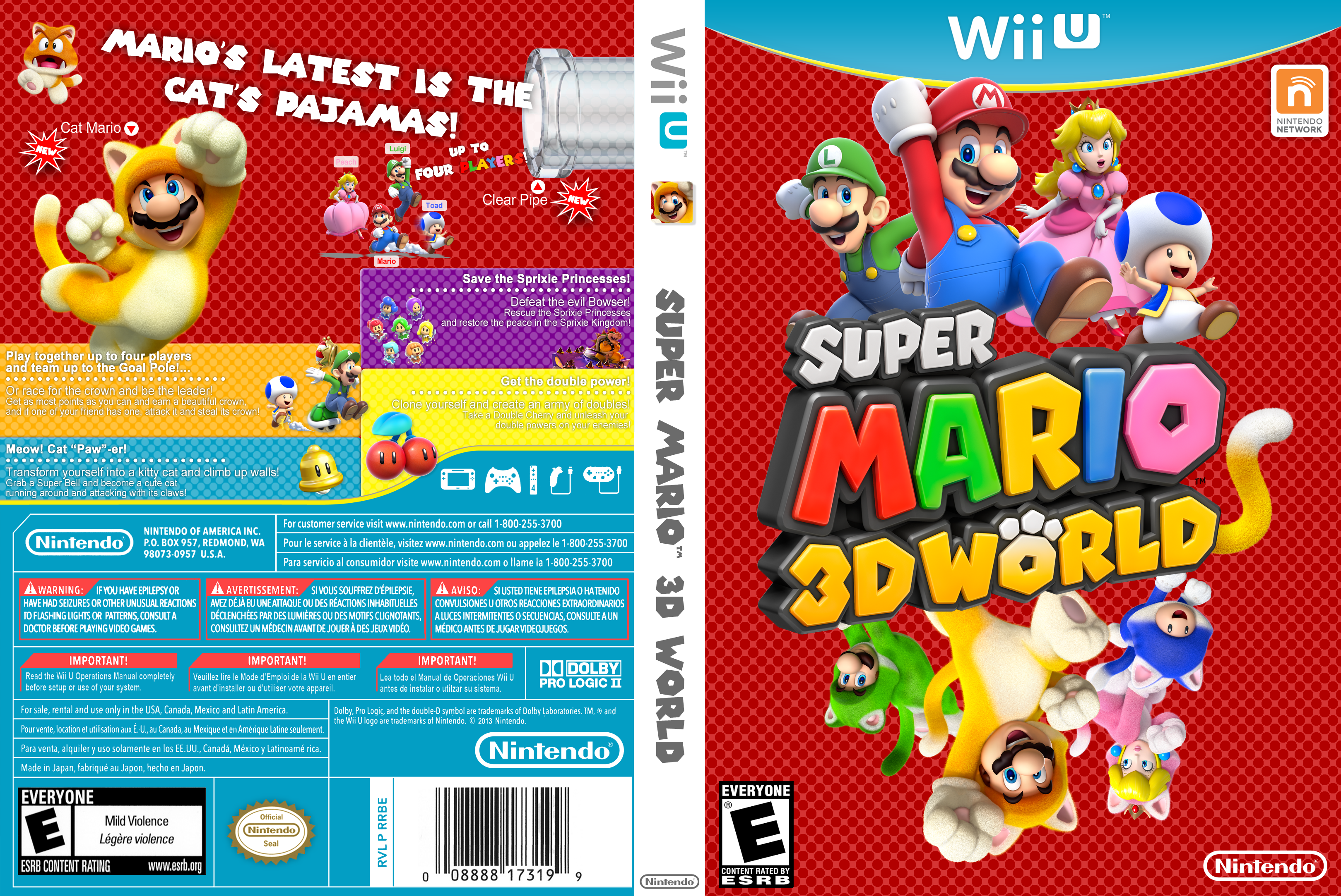 super mario 3d world psp android