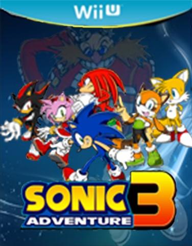 Sonic Adventure 3 Wii U Box Art Cover by sonamy544