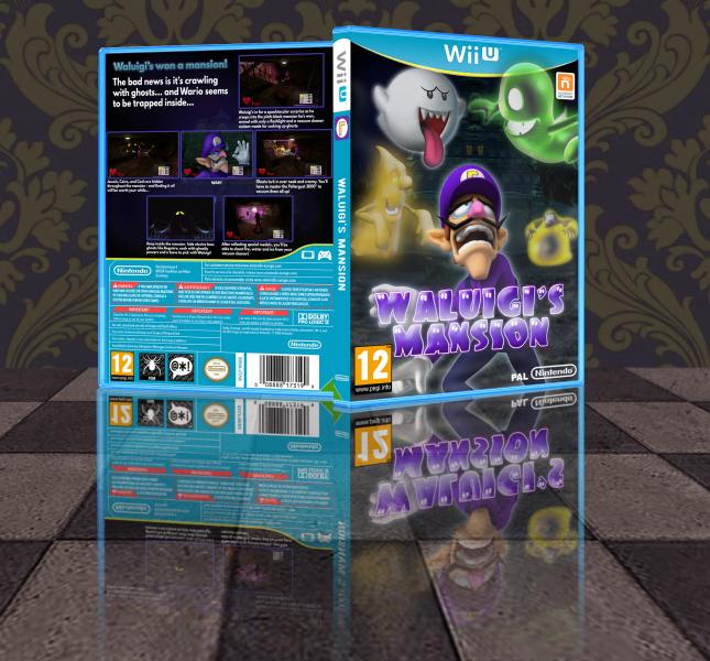 Waluigi S Mansion Wii U Box Art Cover By Transgenderviking