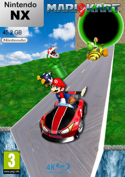 Mario Kart 9 Nx Wii U Box Art Cover By Superkonata