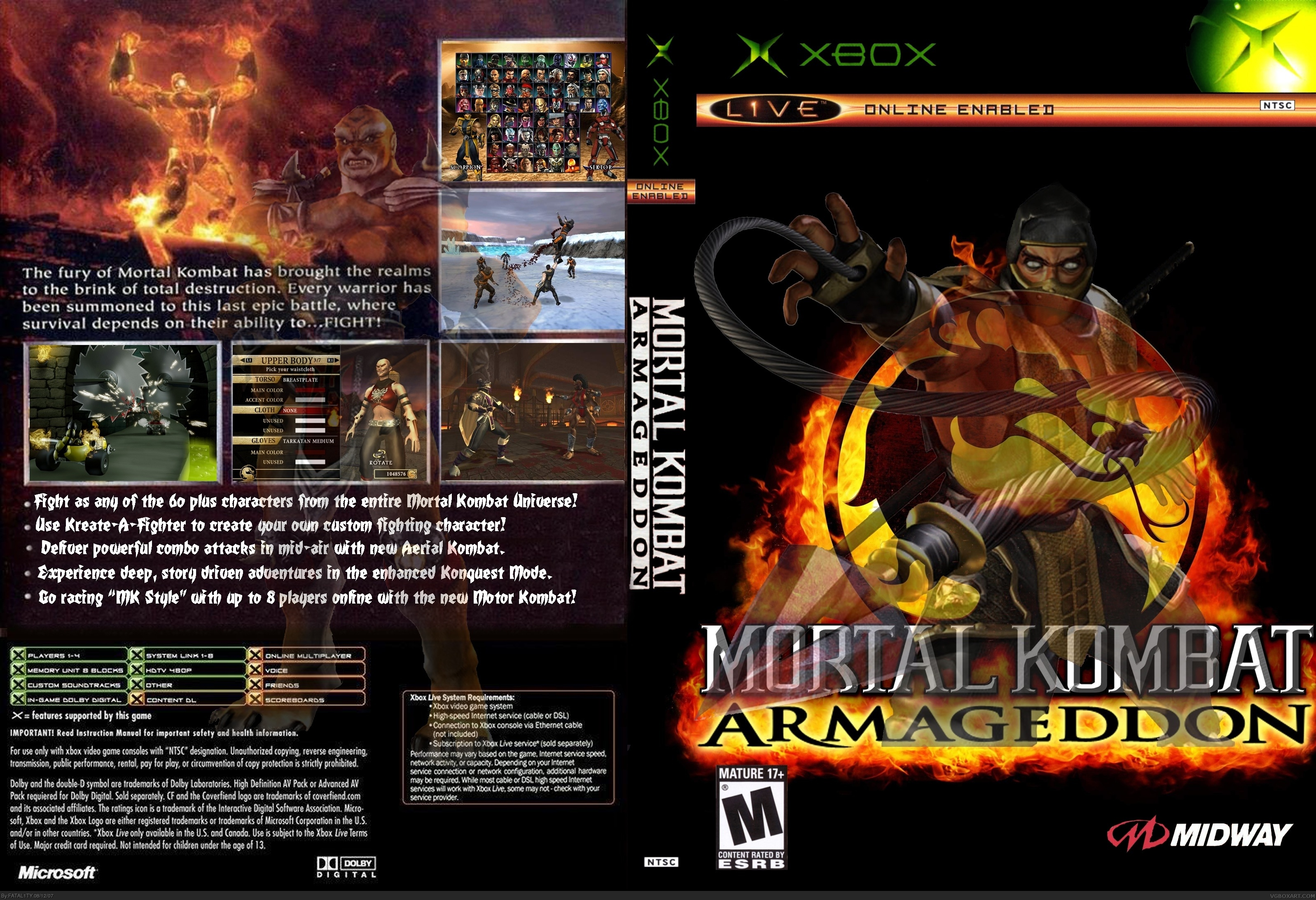 Mortal Kombat Armageddon Ps2 Fatalities Mortal Kombat Armagedd...