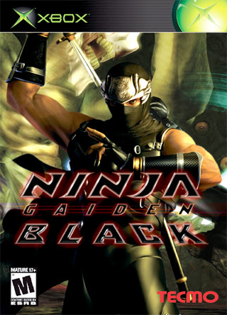 Ninja Gaiden Black Xbox Box Art Cover By Staceass