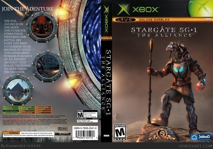 Xbox » StarGate SG-1: The Alliance Box Cover  ← →    6,932  2 (?)