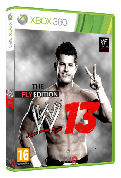 WWE'13 The Fly Edition box cover