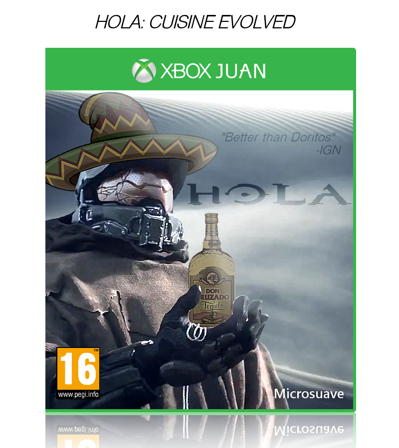 Fun Games For Xbox Original : Hola xbox one box art cover by szymon