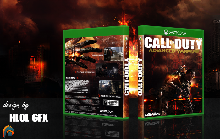 Call of Duty: Advanced Warfare Xbox One Box Art Cover by ...