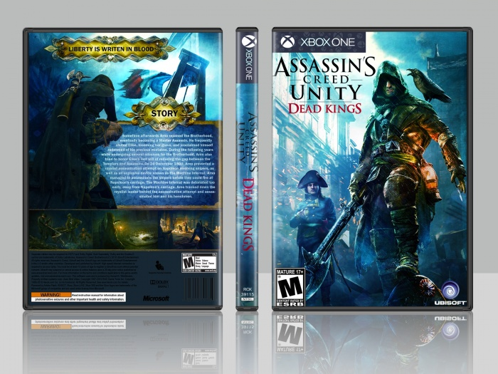 Assassin S Creed Unity Dead Kings Xbox One Box Art Cover By