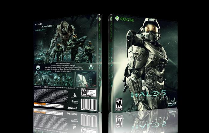 Xbox One Box Art Halo 5 Guardians Xbox ...