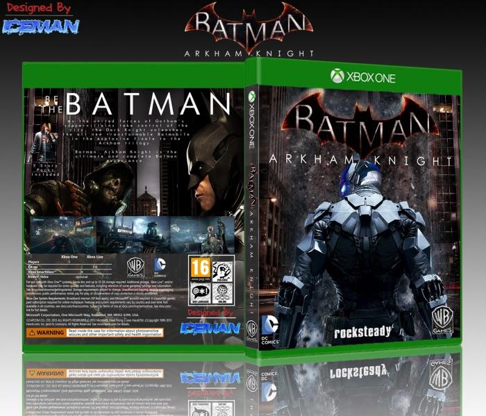 Batman Arkham Knight Xbox One Box Art Cover by Iceman423626