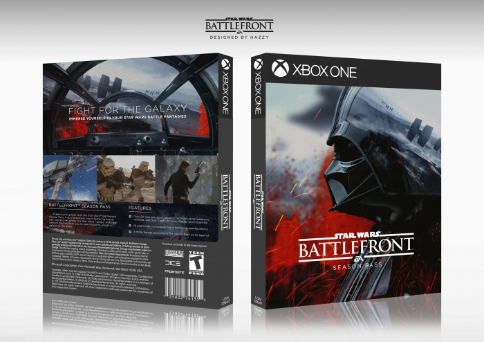 Star Wars Battlefront box art cover