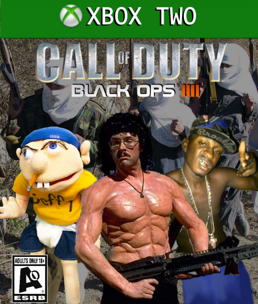 Call Of Duty Black Ops 4 Xbox One Box Art Cover By