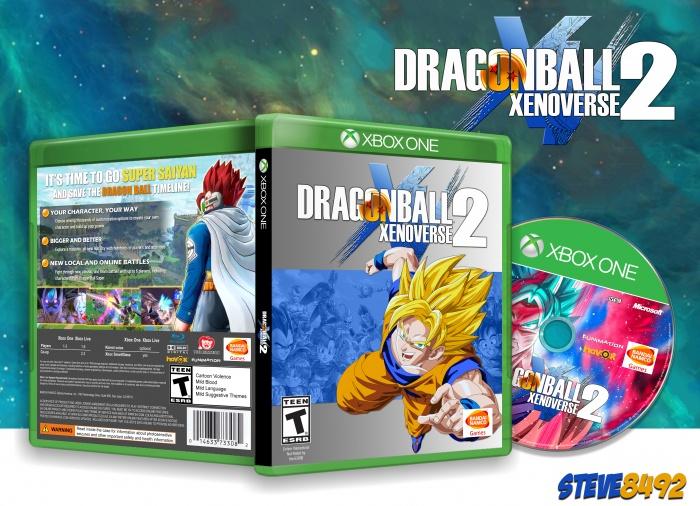 Dragon Ball Xenoverse 2 Xbox One Box Art Cover by Steve8492