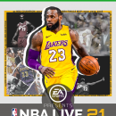 NBA LIVE 21 Box Art Cover