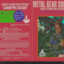 Metal Gear Solid 3 Box Art Cover