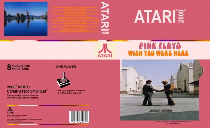 Pink Floyd - Wish You Were Here box art cover