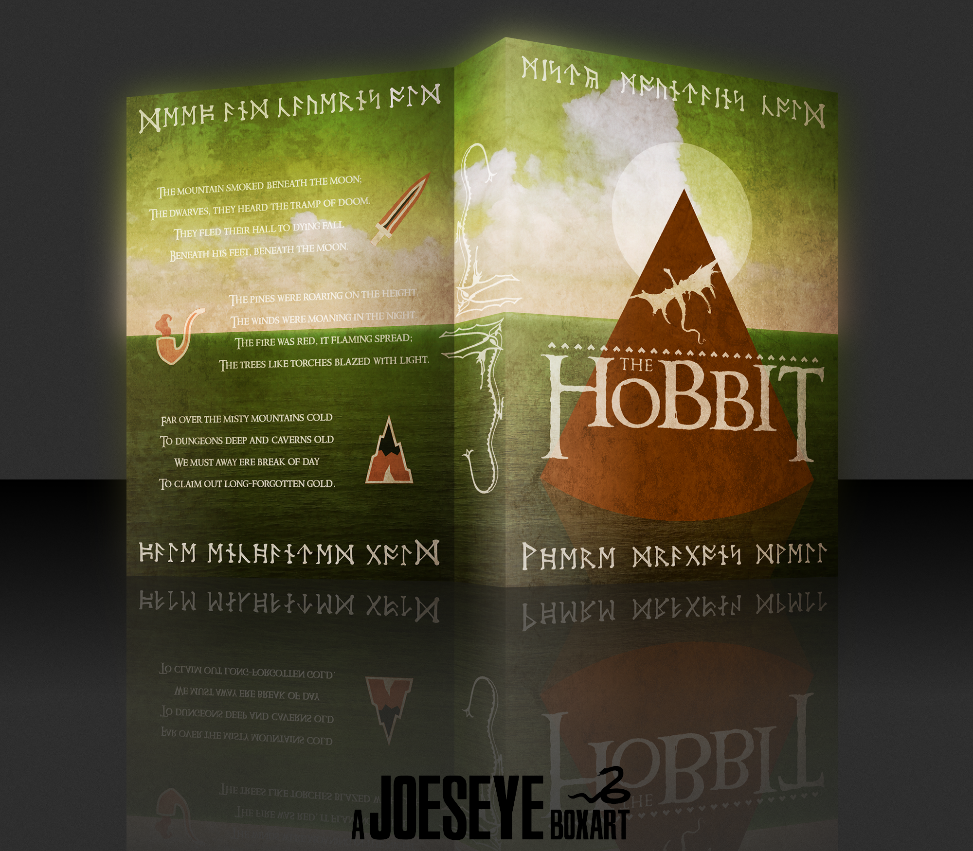 The Hobbit box cover