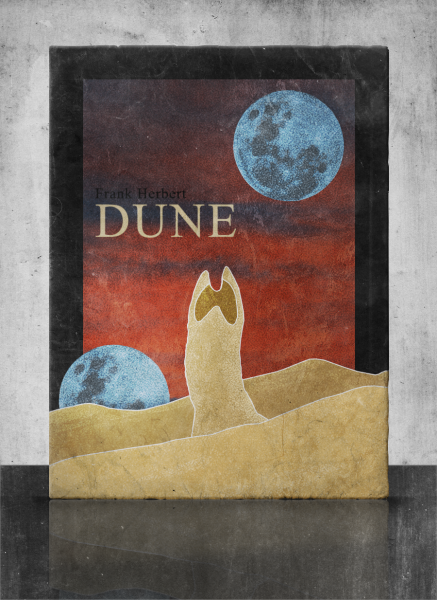 Dune Books Box Art Cover By Twistedtinkertoy