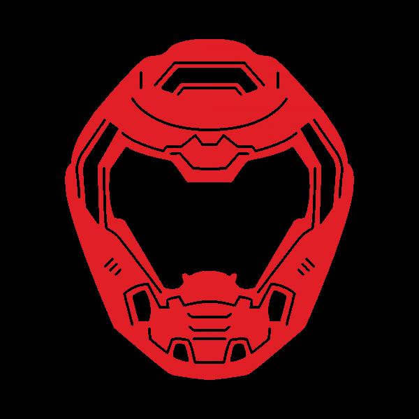 doom eternal logo png