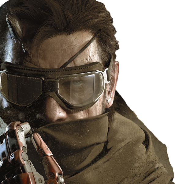 Metal Gear Solid V The Phantom Pain Render
