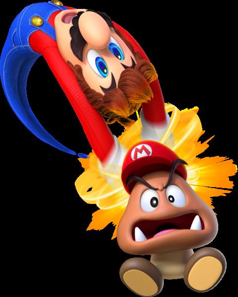 Mario Odyssey Saturn