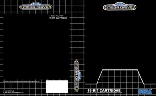 Sega Mega Drive Template