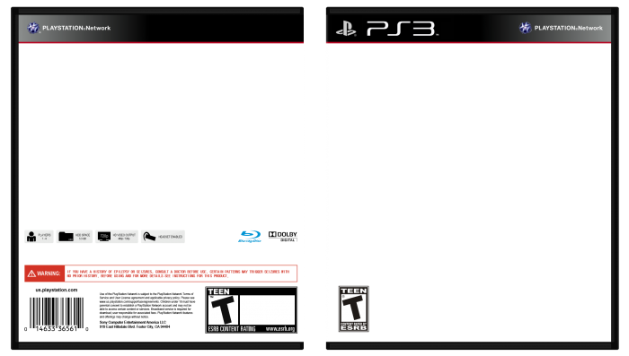 PlayStation 3 template