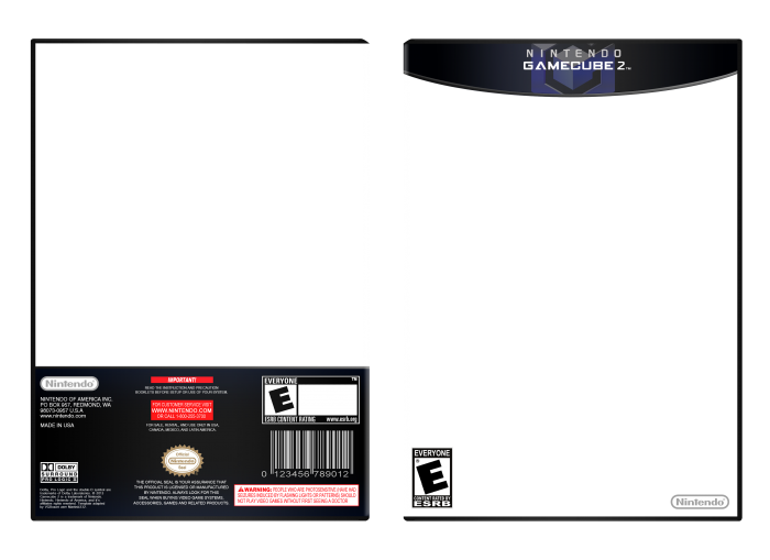 Free Xbox One Box Art Template